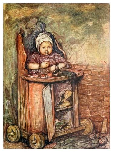 026-Un bebé en su silla-Holland (1904)- Nico Jungman