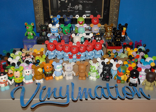 My Currently Unorganized Vinylmation Collection