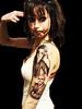 Nick Cave and Leonard Cohen portrait tattoo (in Progress) Miguel Angel Professional