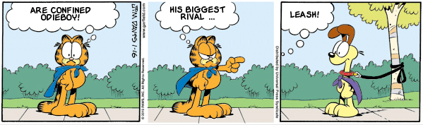 Garfield: Lost in Translation, January 16, 2010