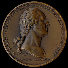 Washington before Boston medal obverse