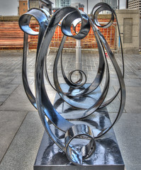 Curly Wurly (Mortarman101) Tags: sculpture art liverpool hdr mersey pierhead merseyside