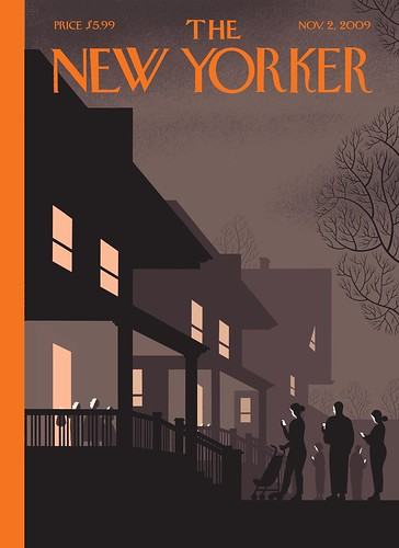 New Yorker Chris Ware Halloween cover