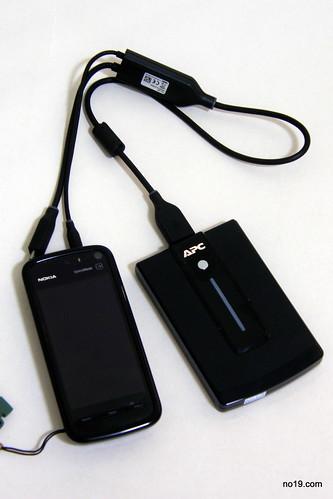 APC UPB10 幫 5800XM 充電 - P1211831