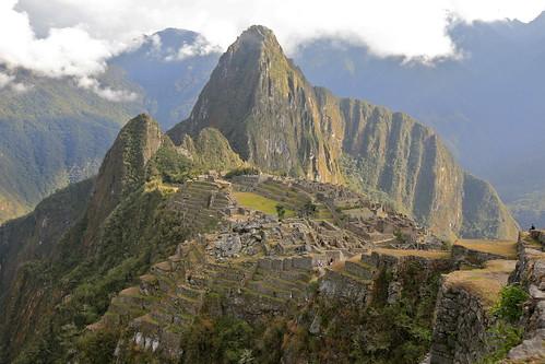 フリー画像|人工風景|建造物/建築物|マチュ・ピチュ|世界遺産/ユネスコ|山の風景|ペルー風景|フリー素材|