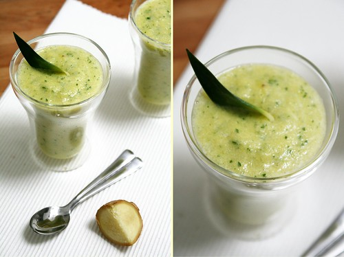 Smoothie Ananas-Gingembre