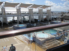 Celebrity Solstice Pool and hot tubs