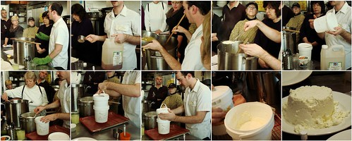 Making Of Paneer (Heated Cheese)