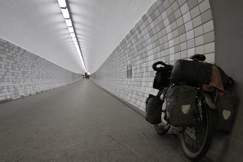 Tunnel under the Kiel Canal...