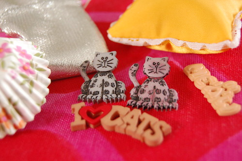 Cat buttons (Photo by iHanna - Hanna Andersson)