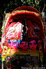 Rickshaw Art (Tarin1975) Tags: red white black color art asia dhaka rickshaw bangladesh rickshawart keranigonj tarin1975 nikond40xnikkor1855ed