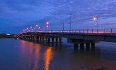 Muar Bridge at Dawn (oceansong04) Tags: top20bridges