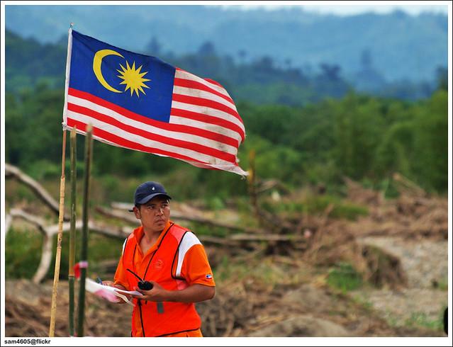 Cabaran 4x4 Matupang - Bendera Malaysia