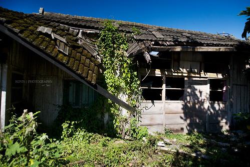 破舊的老屋