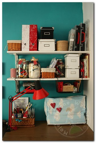 My Craft Room - sewing machine corner