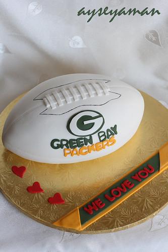 amerikan futbol pastası