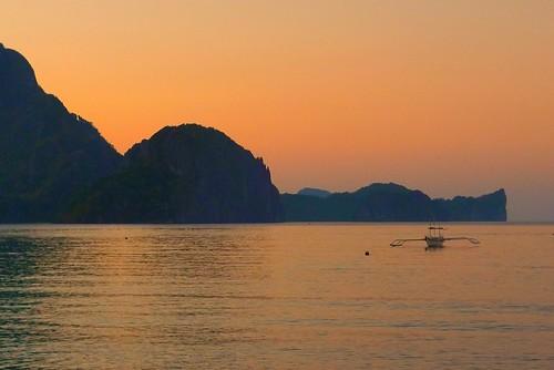 palawan sunset photos