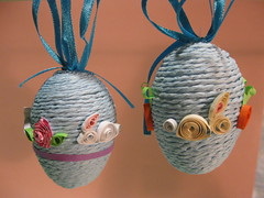 Quilled Rabbit Eggs
