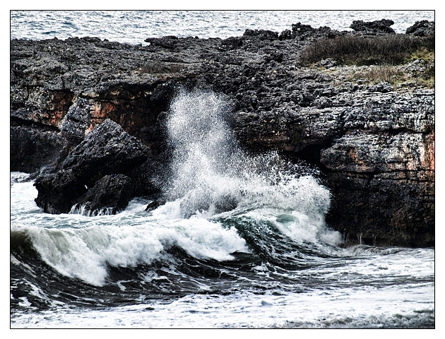 Waves Crashing II