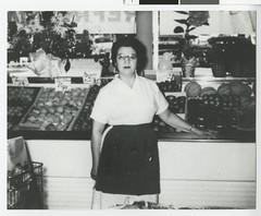 Sylvia Borken, at the family store, Knox Marke...