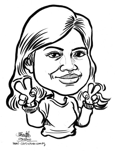 Caricature for K C Dat - 9