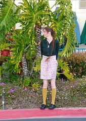 In the Ferns 2 (bleedingbeloved) Tags: fashion longhair ferns orangecountyca