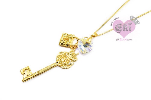 elegance key necklace ekiLove