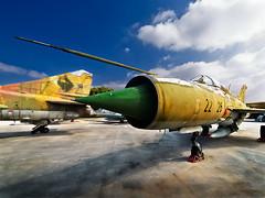 MIG-21 (Gallo Quirico) Tags: plane fighter aircraft aviation olympus explore avin zuiko caza aviacion e500 714mm museodelaire urofdls fsuro150310210310 gettyimagesspainq1