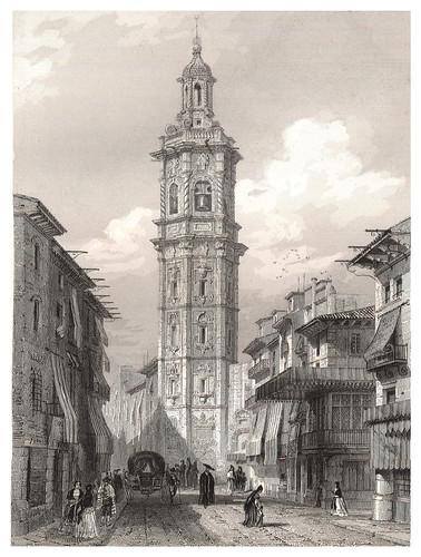 029-Torre de Santa Catalina en Valencia-Voyage pittoresque en Espagne et en Portugal 1852- Emile Bégin