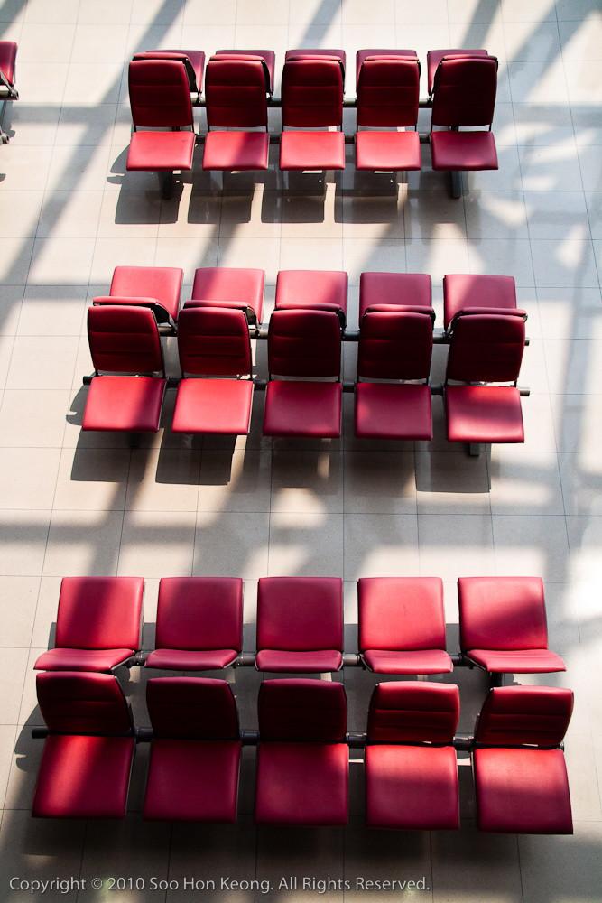 Empty Seats @ Bangkok Airport, Thailand