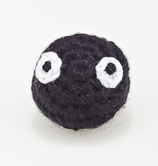 Susuwatari black soot sprite ball brooch