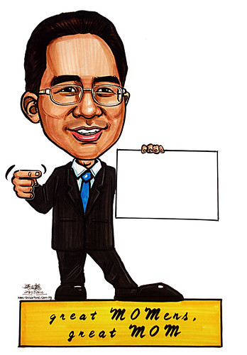 Caricature for Ministry of Manpower - 23