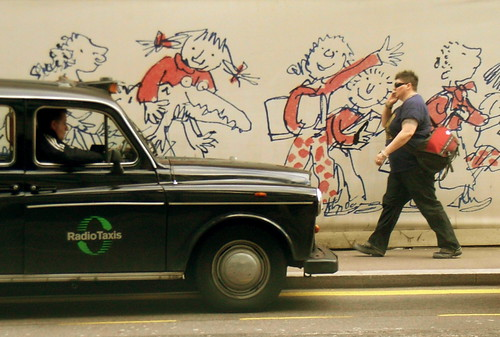 Taxi And Quentin Blake Artwork