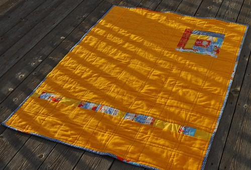 oh boy quilt back