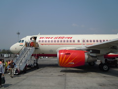 Air India VT-SCI (Airbus A319) (orclimber) Tags: india air ktm airbus a319 vtsci