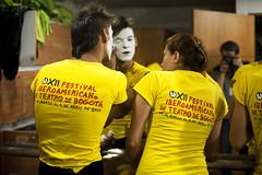 La tropa (RubioBuitrago) Tags: yellow colombia bogota makeup amarillo clowns maquillaje payasos juanfeliperubio festivaldeteatro sicoactiva fitb xiifestivaliberoamericanodeteatro2010
