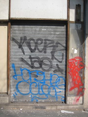(Style de main) Tags: street paris art graffiti tag 09 oclock vao kaligraphy skweez horphe gueuta koerz