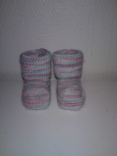 Baby booties by you.