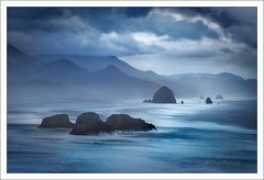 Ecola at Dawn (Chip Phillips) Tags: ocean park oregon coast state pacific ecola mywinners