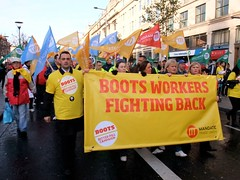 Boots workers