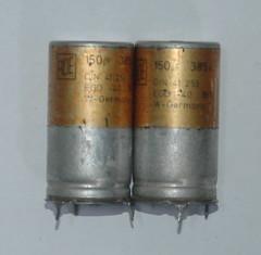 kapasitor roe 150uf 385v (hactux) Tags: vintage capacitor roe kapasitor 150uf