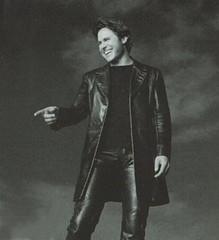 Shane Minor (Lederjule) Tags: music man male leather country singer leder lederhose leatherpants lederjacke