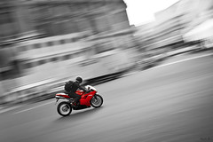 NRV #2 (Marc Benslahdine) Tags: paris cutout rouge moto ducati motard lightroom vitesse filé rapide placedelopéra tamronspaf1750mmf28xrdiii deuxroues canoneos50d marcopix 1098r ducati1098r tripax ©marcbenslahdine wwwmarcopixcom wwwfacebookcommarcopix marcopixcom