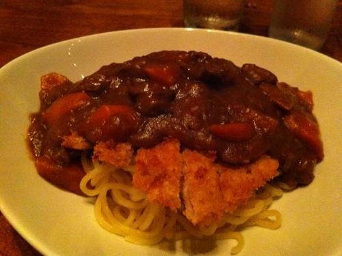 Katsu Curry Japaghetti