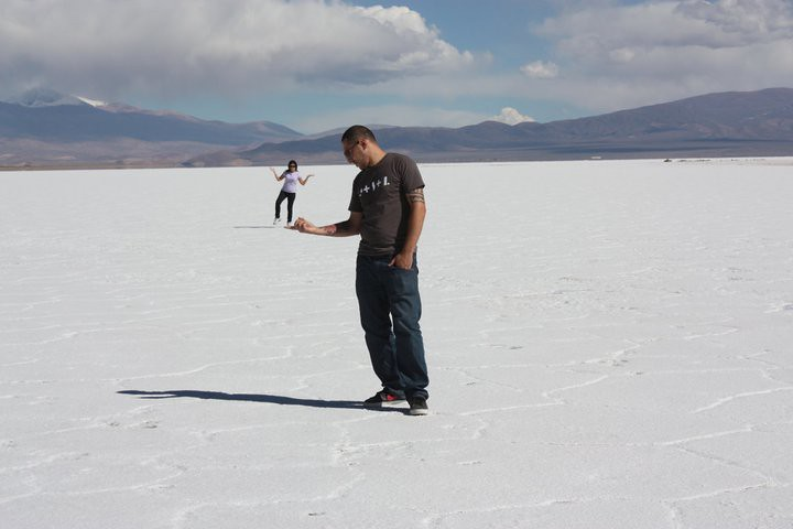 Las Salinas, Salt Lake
