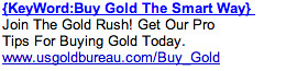 Gold Buying - Ad #1