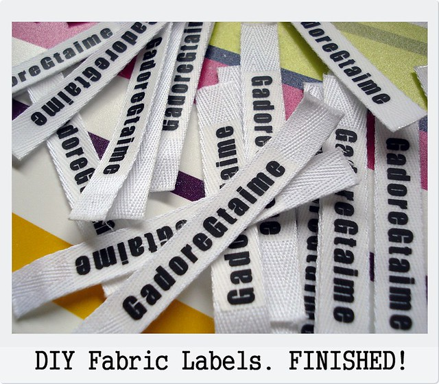 DIY_Custom Fabric Labels