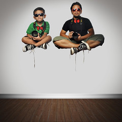 Like Father, Like Son (maraculio) Tags: likefatherlikeson