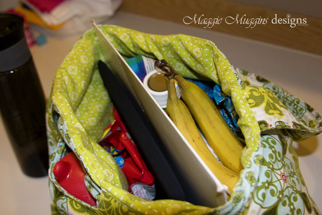 The Maggie Bag At Capacity