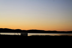 Sunset at the cove (Erica Robyn) Tags: sunset silhouette islesboro islesboromaine